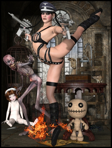 goetia_girls_succubus_wednesday_addams_ballerina_phenex