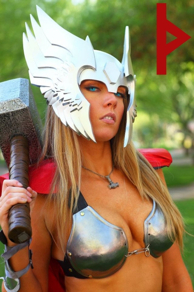 goetia_girls_lady_thor_marvel_succubus_rune_valkyrie_norse_hammer