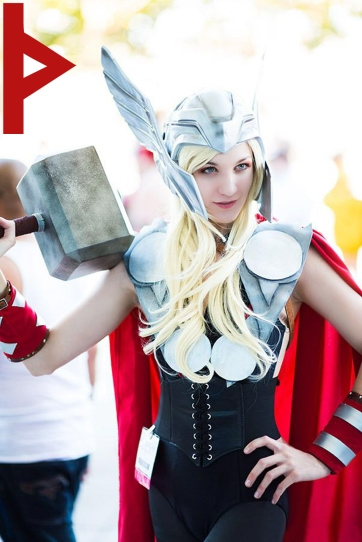 goetia_girls_lady_thor_succubus_norse_goddess_hammer_rune_magic