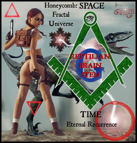 goetia_girls_ronove_reptilian_brainstem_freemason_dinosaur_girl_lara_croft_palaeontologist_fossil_hunter_succubus