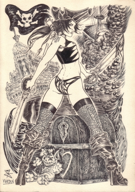 goetia_girls_asmoday_pirate_girl_caribbean_succubus_witch_original_art_mardun