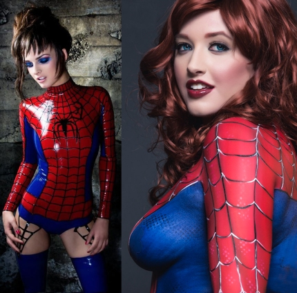 goetia_girls_succubus_spider_girl_marvel_comic_art_muse_of_faustus_crow