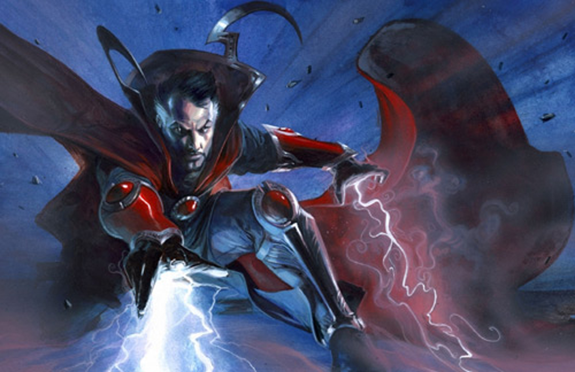 DOCTOR STRANGE CONJURES HIPPIE WITCH GAAP | FAUSTUS CROW