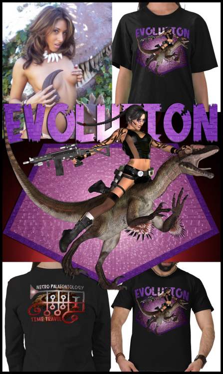 goetia_girls_liliths_harem_dinosaur_rapror_lara_croft_ronovea_time_travel_shirt_design_succubus_of_faustus_crow
