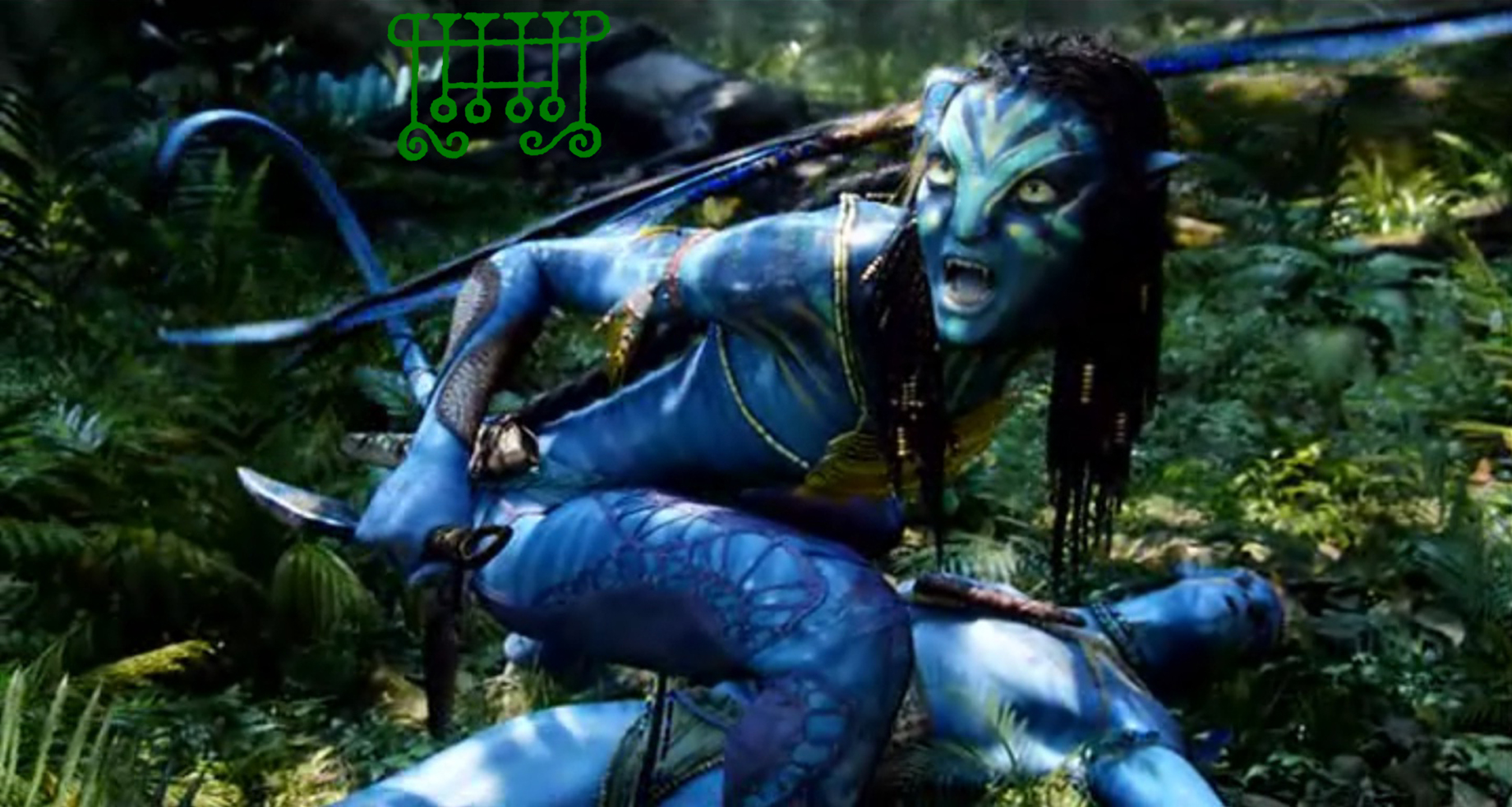 Avatar Lucid Dreams Of Blue Skinned Gusion Of Pandora -6193