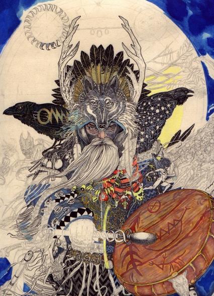 goetia_girls_wizard_shaman_magician_odqan_odin_woden_woden_gandalf_mardun_faustus_crow