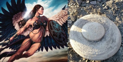 goetia_girls_valkyrie_shield_maiden_ufo_disk_russia