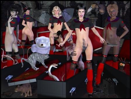 goetia_girls_lilith's_harem_st_trinian_hogwarts_boarding_school_vampire_schoolgirl_succubus_of_faustus_crow