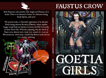 goeta_girls_lilith's_harem_faustus_crow_succubus_art_book_black_and_white