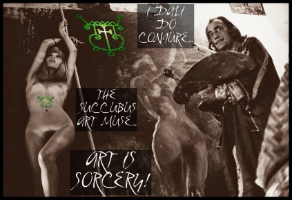 goetia_girls_salvador_dali_surrealist_sorcerer_artis_succubus_evocation_faustus_crow
